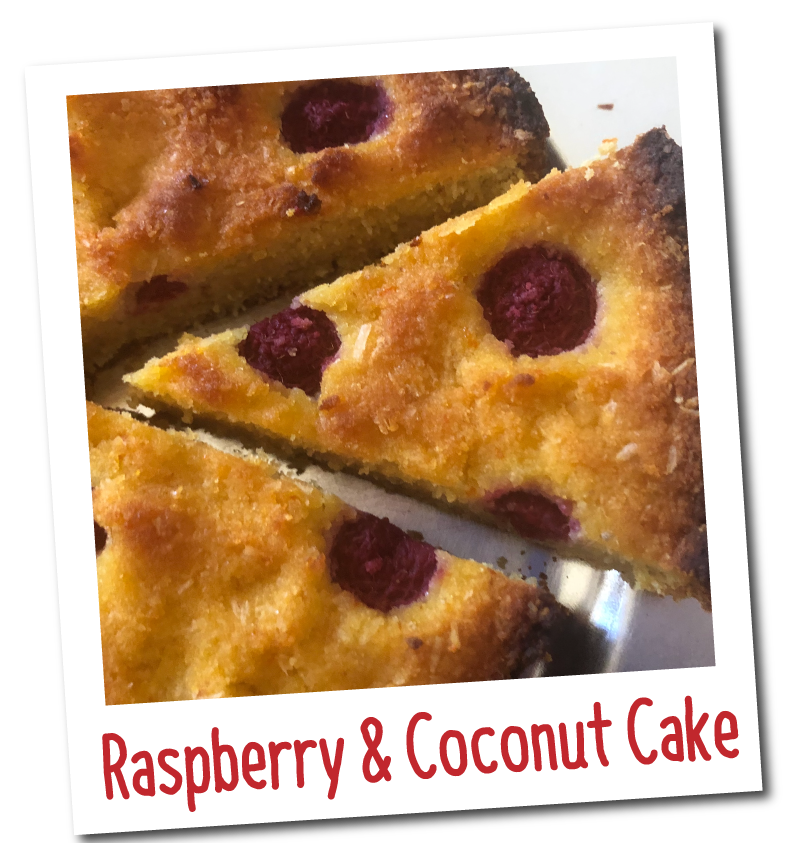 raspberry-and-coconut-cake-recipe-healthy-christmas-recipes-eat-well-cookbook-australia